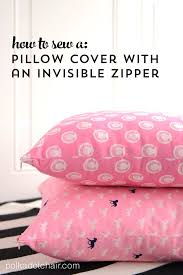 How To Make A Slipcover For A Couch How To Sew A Pillow Cover With An Invisible Zipper