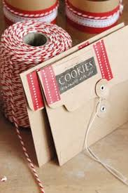 window tins are easy to dress up with kraft paper baker u0027s twine