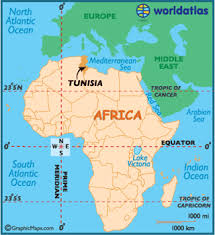 tunisia on africa map tunisia map geography of tunisia map of tunisia worldatlas