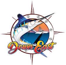white marlin boat vector design