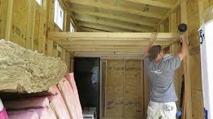tiny house loft part 1 youtube