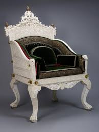 the throne chair with wolf burchard ngv
