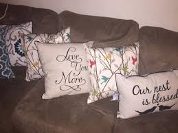 Walmart Sofa Pillows by Mainstays Love You More Pillow Walmart Com