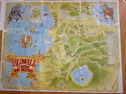 Accurate Map Of The World How Accurate Is This Map Of The World Of Redwall Are There Better