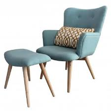 fauteuil de pas cher fauteuil avec repose pieds stockholm achat vente fauteuil bleu