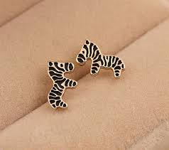 pretty liars earrings zebra earrings lilyfair jewelry