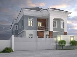 4 bedroom duplex and 2 bedroom flats ref 4015 nigerianhouseplans