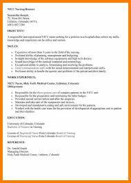 nicu resume 11 nicu resume prefix chart