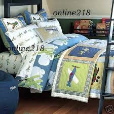Pottery Barn Kits Boys Twin Quilt Throughout Boys Twin Quilt Pottery Barn Kids