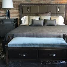 High Headboard Bed High Headboard Bedroom Marcucci Home Interiors