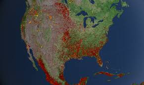 Fl Wildfire Map by Svs United States Active Fires 2012
