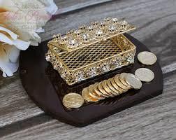 arras de boda new silver or gold wedding arras ring box arras de boda