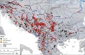 Map Of Europe With Rivers by Save The Blue Heart Of Europe Balkan Rivers Under Attack From