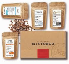 Box Coffee mistobox coffee subscription service shark tank products