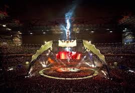 Extreme Nave de aço: palco da banda U2 - Met@lica @VT39