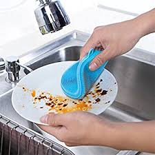 whisk cleaner amazon com 1 piece magic silicone dish bowl cleaning brushes