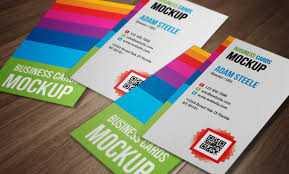 Easy Business Card Design Download This Beautiful Vertical Business Cards Psd Mockup Easy