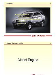 bl engine kia sorento diesel engine fuel injection