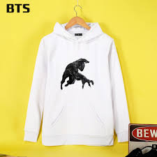 bts black panther hoodies mulheres creative sale sweatshirt