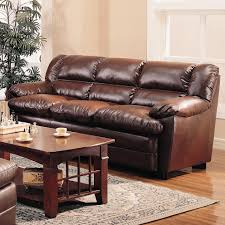 Living Rooms With Dark Brown Leather Furniture White Painted Living Room Wall With L Shaped Dark Brown Leather