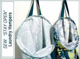 purple laundry hamper emmaline bags sewing patterns and purse supplies how to make