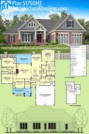 garage plans with bonus room baby nursery one story house plans with bonus room best one
