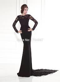 aliexpress com buy o neck long sleeve dresses for wedding guest