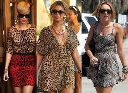 leopard print the major lead in fashion