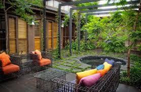 Small Terrace Garden Design