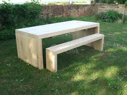 patio table and bench garden table bench wood folding picnic beer garden table outside