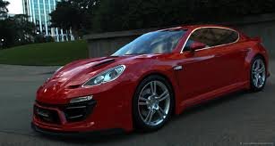 porsche panamera matte red anibal automotive design porsche panamera prestige widebody custom