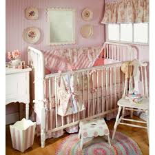 bedroom shabby sheek nursery design with exciting crib and roman