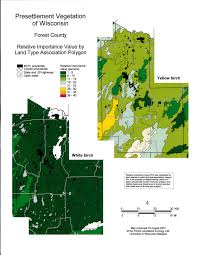 Counties In Wisconsin Map by Wisconsin Historic Landscape Project