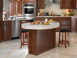 kitchen breathtaking mobile kitchen island for home stainless amazing brown round traditional wooden sland kitchen varnished design
