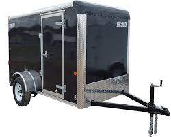enclosed trailer exterior lights car mate trailers inc trailers that work for a living