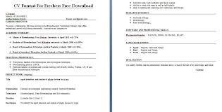 resume sle for freshers download resume cv format freshers cv format for freshers free download