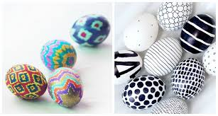 Easter Egg Decorating Ideas With Crayons by No Dye Easter Eggs Decorating Ideas Thegoodstuff