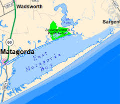 fishing maps and spots for east matagorda bay