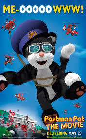 postman pat movie character posters cartoon icon jess cat