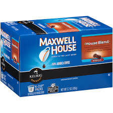 maxwell house blend medium roast k cups coffee pods 54 count 16