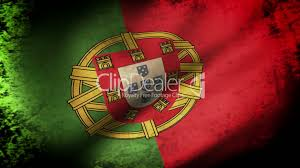 Portugal Football Flag Portugal Flag Waving Grunge Look Lizenzfreie Stock Videos Und Clips