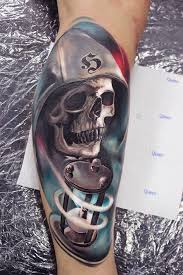 queen hat tattoo 99 gnarly skull tattoos that will make you gawk