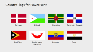Country Flag Images Country Flags Clipart For Powerpoint C To D Slidemodel