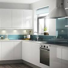 white gloss kitchen doors cheap kitchen compare b q it marletti gloss white handless