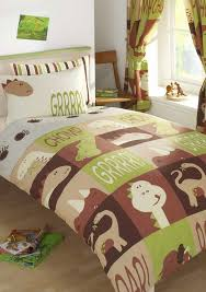 Children S Duvet Cover Sets Boys Dinosaur Single Duvet Cover Bed Set Amazon Co Uk Kitchen U0026 Home