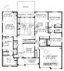 home design in ipad simple four bedroom house plans with garage designs and floor
