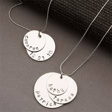 silver name charm necklace images 140 best mothers necklace with kids names images jpg