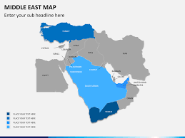 middle east map ppt middle east map powerpoint sketchbubble