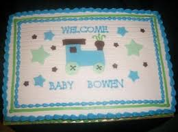 carter u0027s train theme baby shower sheet cake cake by caymancake