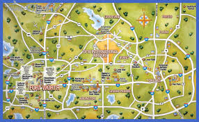map with attractions dallas map tourist attractions toursmaps